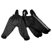 Foufou Dog Bodyguard Protective All-Weather Pants Blk 2XL