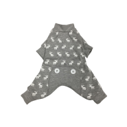 Foufou Dog Moose PJ XL Gray
