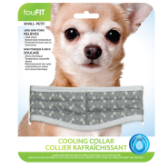 Foufou Cooling Collar Grey Small