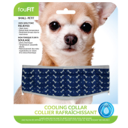 Foufou Cooling Collar Blue Small