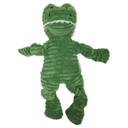 "Foufou Animal Buddies Knotted Toy Small 10"" Alligator"