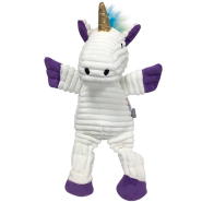 FouFIT Rainbow Brite Knotted Toy Unicorn SM