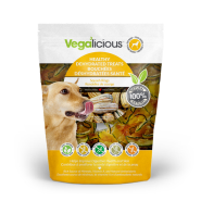 Foufou Vegalicious Healthy Dehydrated Squash Rings 6.4 oz