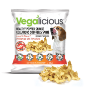 Foufou Vegalicious Healthy Popped Snacks Lentil Blend 1 oz