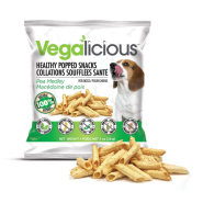 Foufou Vegalicious Healthy Popped Snacks Pea Medley 1 oz