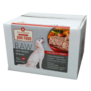 JD Farms Dog Raw Poultry Food 4 kg (36 squares)