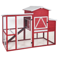 Precision Red Barn Ranch Chicken Coop 2018