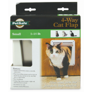 PetSafe Cat Four Way FlapWhite