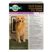 PetSafe Premium Wall Entry Alluminum Pet Door Large