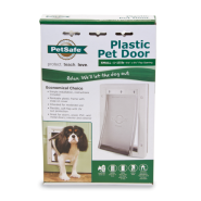 PetSafe Plastic Pet Door White Small