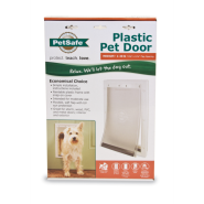 PetSafe Plastic Pet Door White Medium