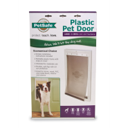 PetSafe Plastic Pet Door White Large