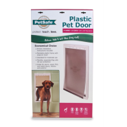 PetSafe Plastic Pet Door White XLarge