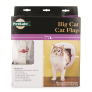 PetSafe Cat Door Big 4-Way Locking White
