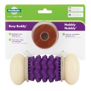 Busy Buddy Nobbly Nubbly Medium with Cornstarch Rings
