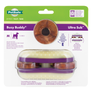 Busy Buddy Ultra Sub Medium with Cornstarch Rings