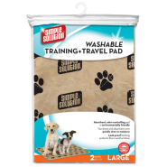 Simple Solution Washable Training & Travel Pad Large 2 pk