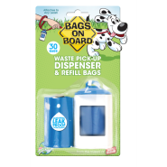 Bags On Board Original Dispenser Blue 30 bags