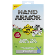 Bags On Board Hand Armor Extra Thick Handle Tie Bags 100 ct