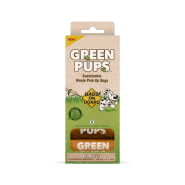 Bags On Board Green-Pups Pick-up Refill Bags 60 ct