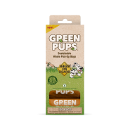 Bags On Board Green-Pups Certified Compostable Bags 120 ct