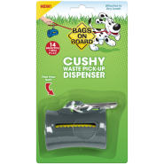 Bags on Board Cushy Dispenser Gray 14 bags