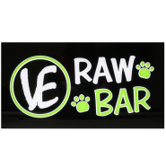 Vital Essentials Raw Bar Neon Sign/bags/buckets/tongs/labels