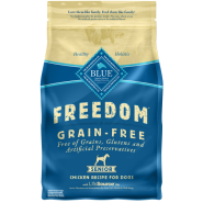 Blue Freedom GF Dog Senior Chicken 4 lb