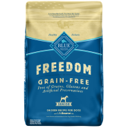 Blue Freedom GF Dog Senior Chicken 24 lb