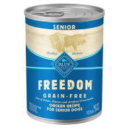 Blue Freedom GF Dog Senior Chicken Dinner 12/12.5 oz