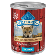 Blue Wilderness Dog Rocky Mtn Puppy Red Meat 12/12.5 oz
