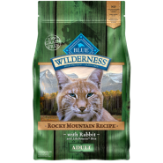 Blue Wilderness Cat Adult Rocky Mountain Rabbit 4 lb
