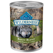 Blue Wilderness Dog GF Bayou Blend 12/12.5 oz