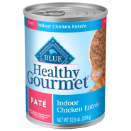 Blue Healthy Gourmet Cat Adult Indoor Ckn Pate 12/12.5 oz