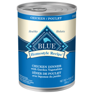 Blue LPF Dog Homestyle Chicken & BnRice 12/12.5 oz