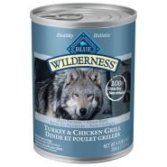 Blue Wilderness GF Dog Turkey & Chicken 12/12.5 oz