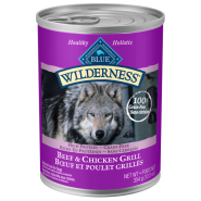 Blue Wilderness Dog GF Beef & Chicken Grill 12/12.5 oz