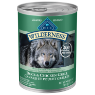 Blue Wilderness Dog GF Duck & Chicken 12/12.5 oz