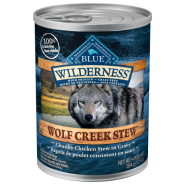 Blue Wilderness Dog GF Wolf Creek Stew Chicken 12/12.5 oz
