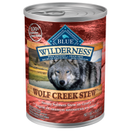 Blue Wilderness Dog GF Wolf Creek Stew Salmon 12/12.5 oz
