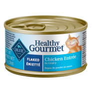 Blue Cat Healthy Gourmet Flaked Chicken in Gravy 24/3 oz