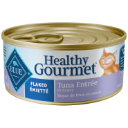 Blue Cat Healthy Gourmet Flaked Tuna in Gravy 24/5.5 oz