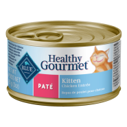 Blue Cat Healthy Gourmet Kitten Chicken Pate 24/3 oz