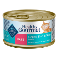 Blue Cat Pate Adult Ocean Fish and Tuna Entree 24/3 oz