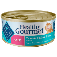 Blue Cat Pate Adult Ocean Fish and Tuna Entree 24/5.5 oz