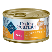 Blue Cat Healthy Gourmet Turkey & Chicken Pate 24/3 oz