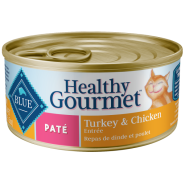 Blue Cat Healthy Gourmet Turkey & Chicken Pate 24/5.5 oz
