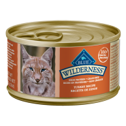 Blue Cat Wilderness Adult Turkey Entree 24/3 oz