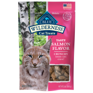 Blue Wilderness GF Cat Crunchy Treats Salmon 2 oz