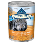 Blue Wilderness Dog Flatland Feast 12/12.5 oz